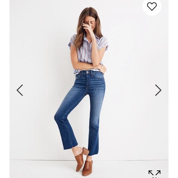 Madewell Denim - Cali Demi-Boot Jeans in Marco Wash